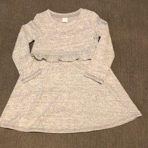 Baby Gap, 3T grey sweater dress